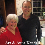 Art & Anne Kendall 2009