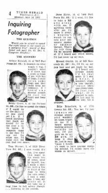 Cubscouts Brinsfield, Warner & Kendall 1951