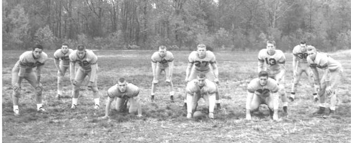 OHHS 1957-1958 Football Team Defense