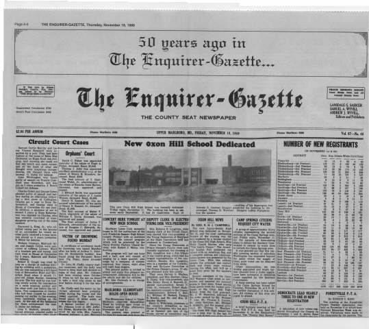 OHHS 1949 Enquire-Gazette