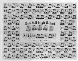 OHHS 1959 Class Cap & Gown Picture