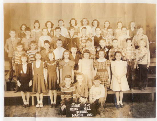OHHS 59 Mrs Cooper 4th grade 1951